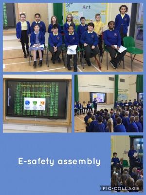 E safety assembly