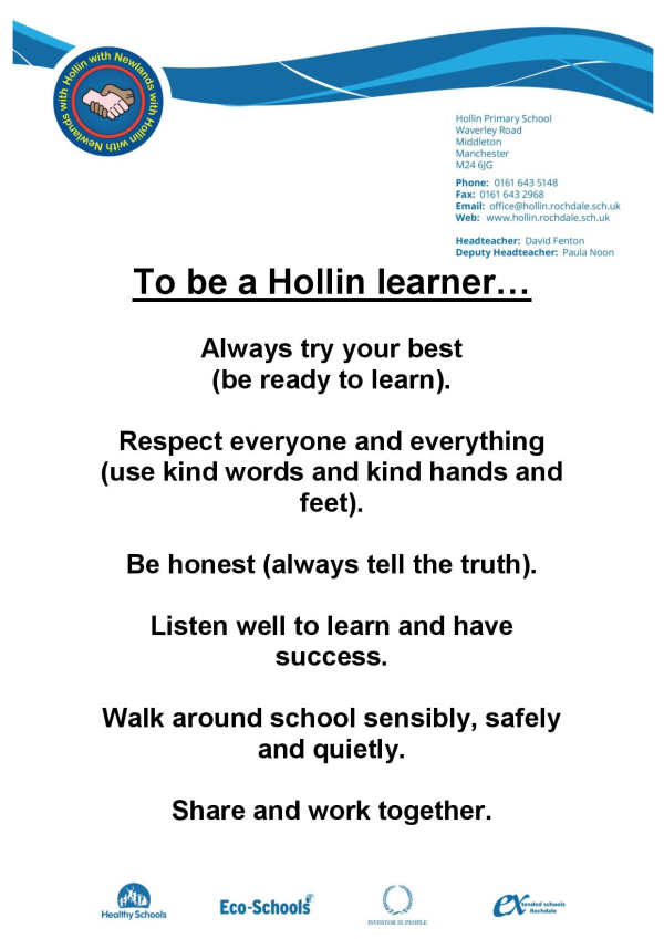 Hollin SCHOOL RULES-page-001